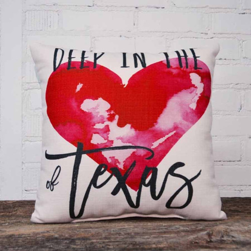 Deep in the Heart of Texas Pillow