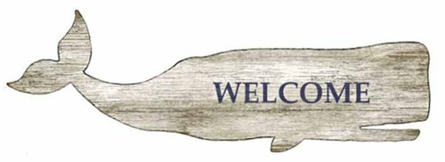 Great White Whale, welcomes you to the the beach house, or wherever your dreams take you. Red Horse wood sign