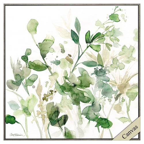 Sage Garden I, Propac Images, canvas art, abstract image of green herbs and sage plant