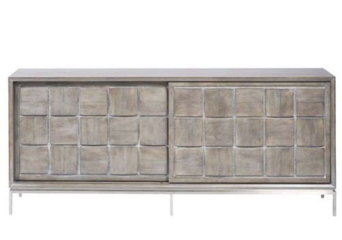 Terrell entertainment console, Vanguard Furniture, langdon finish