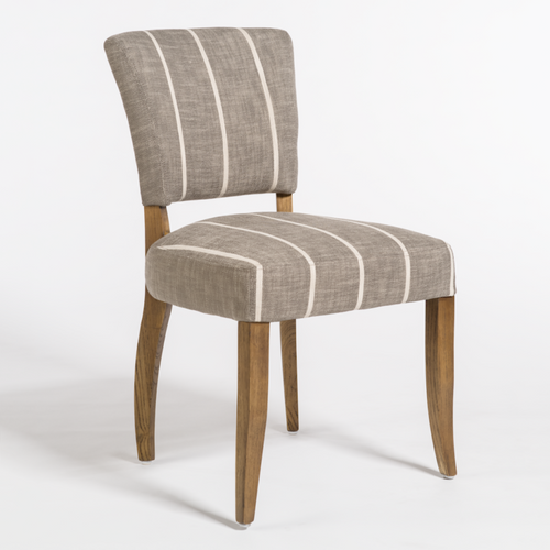 Ashford dining chair, alder and tweed