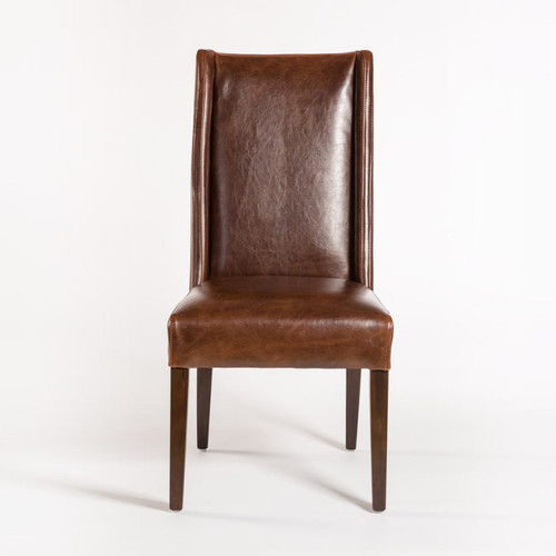 Tribeca Dining Chair, Alder and Tweed, an urban renaissance inspired look, regal, yet angular and modern