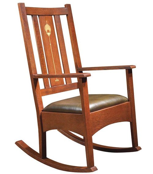 Harvey Ellis Shoe Foot Rocker, Stickley Mission