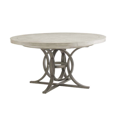 Calerton round dining table, oyster bay collection, lexington furniture