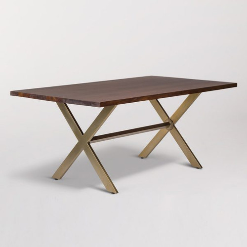 Jackson table and desk, Alder and Tweed