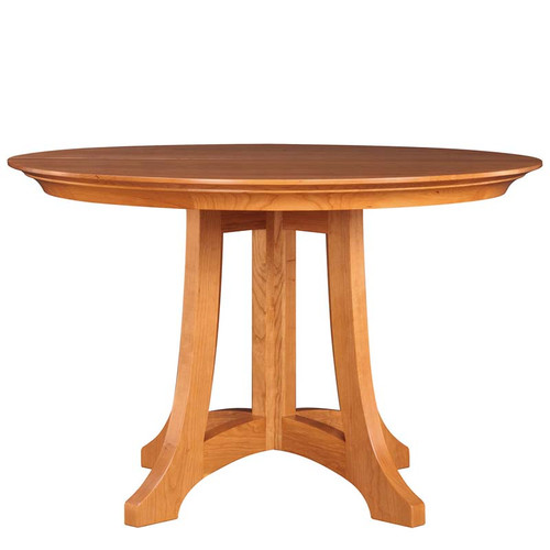 Stickley Highlands Round Dining Table, cherry