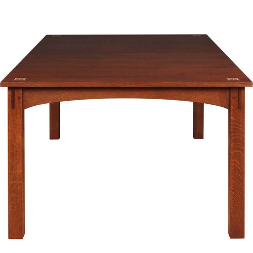 Harvey Ellis Dining Table, Stickley Mission Collection, a solid cherry or oak rectangle extension table
