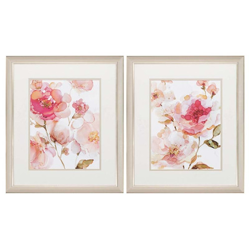 Peonies Roses set of 2