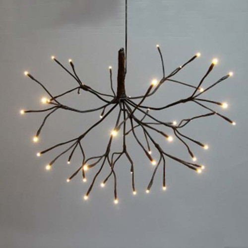 The Light Garden, Starburst Willow Branch, 15 inch, 48 LED lights, illuminated accent for floral arrangements