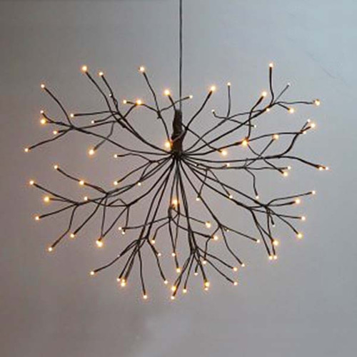 The Light Garden, Starburst Willow Branch, 21 inch, 96 warm long-lasting LED lights