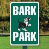 "Bark Park Sign  12"" x 18"" Aluminum"
