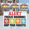 Bundle-Freeze Warning -4 Pack
