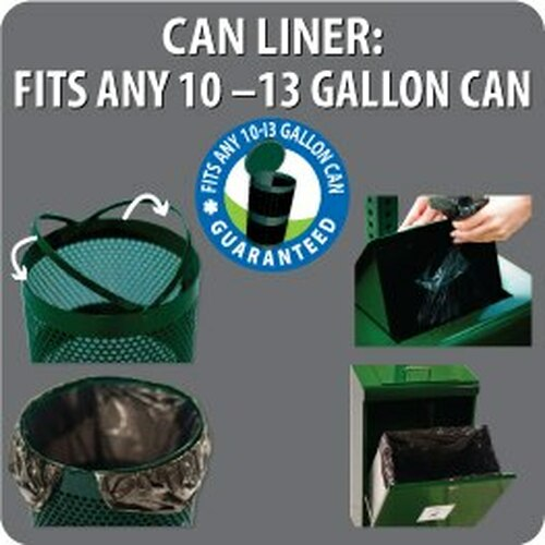Can Liner Fits ANY 10-13 Gallon Can