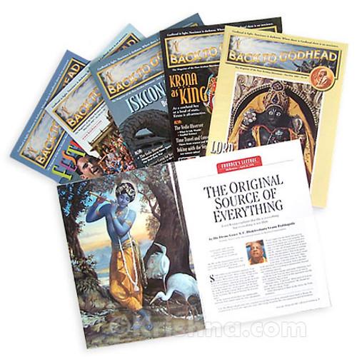 Back to Godhead, International Subscription