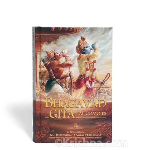 Bhagavad-gita As It Is, Compact, Hardbound, Spanish