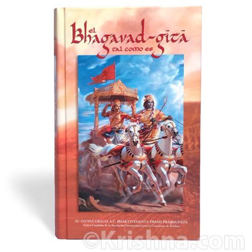Bhagavad-gita As It Is, Hardbound, Spanish