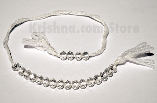 Glass Counter Beads, Clear