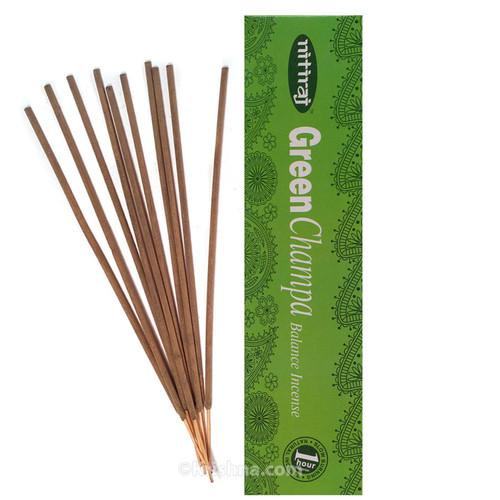 Nitiraja Green Champa, Balance Incense, 25 grams
