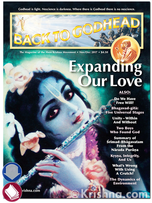 Back to Godhead Issue, Nov/Dec 2017, Download