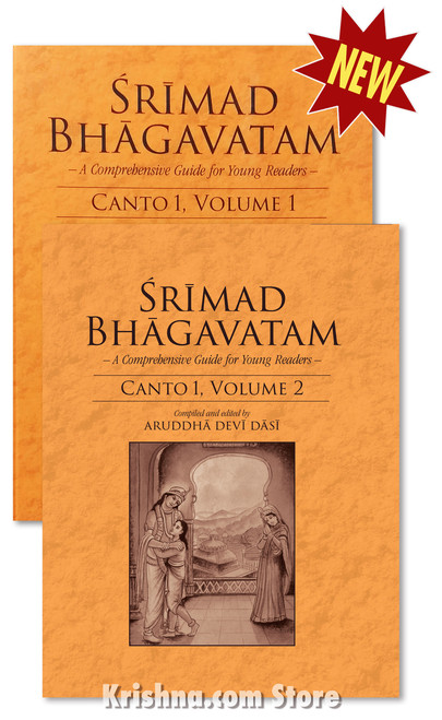 Srimad Bhagavatam: A Comprehensive Guide for Young Readers, 2 Volume Set
