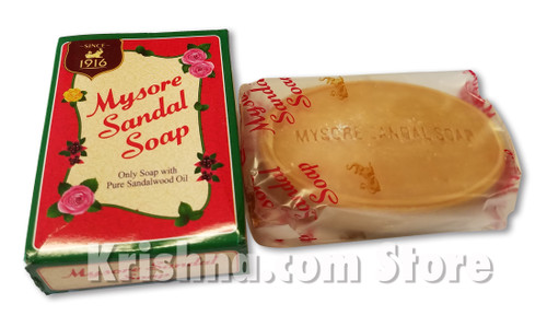 Mysore Sandal Soap, 75g
