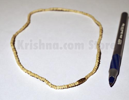 "Tulasi Neck Beads, Small Round, 16.5"""