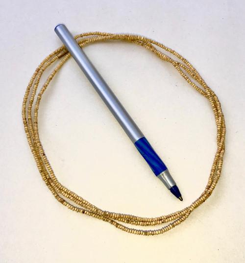 "Tulasi Neck Beads, Extra Small Round, 47"""