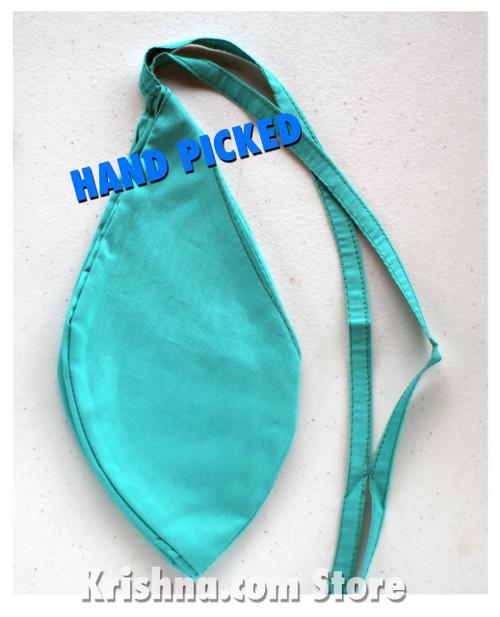 Medium Cotton Bead Bag, Mint Green