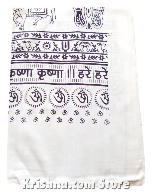 Harinama Chadar, Govardhana, White