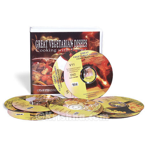 Great Vegetarian Dishes, Complete 11 DVD Set