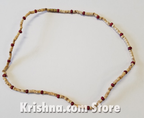 Tulasi & Majenta Neck Beads, 16""