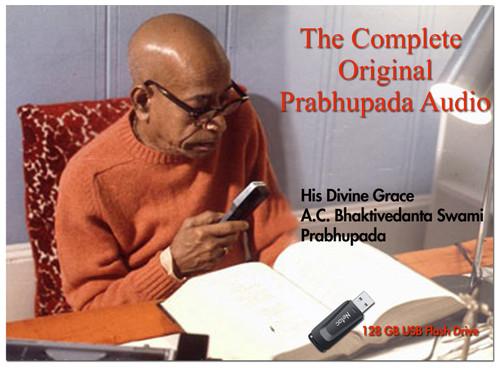 Complete Original Prabhupada Audio, USB