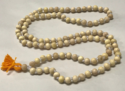 Wood Japa Beads, Smooth Round, Medium