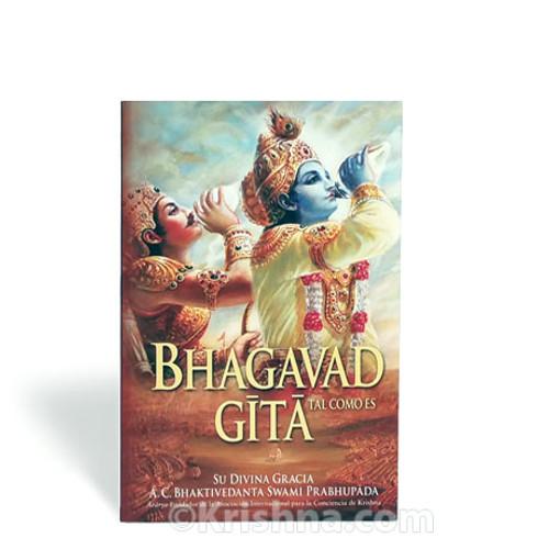 Bhagavad-gita As It Is, Softbound, Compact, Spanish