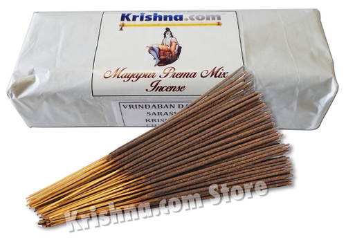 Mayapur Prema Mix Incense, Extra Large, 400-Stick Pack