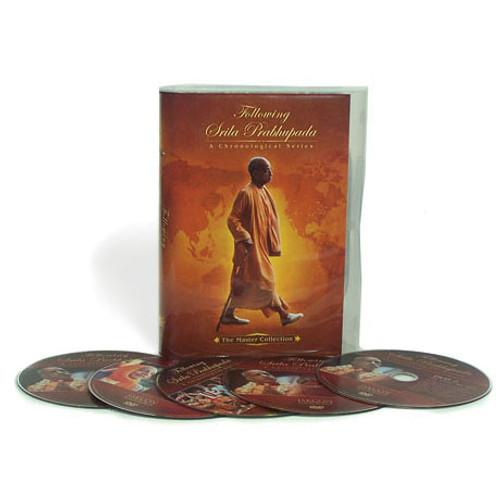 Following Srila Prabhupada, A Chronological Series, 11 DVD Set