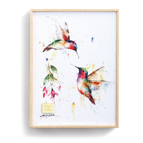Summer Hummingbird Wall Art