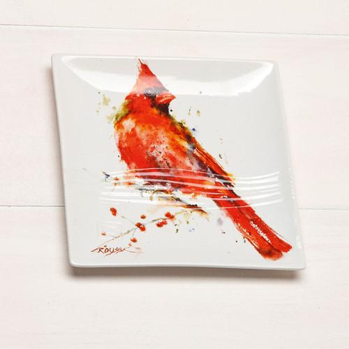 Dean Crouser Cardinal Snack Plate
