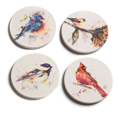 Songbird Coaster Set