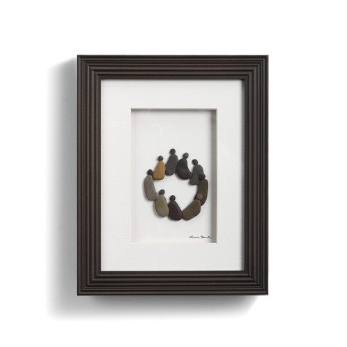 Circle Of Friends Wall Decor