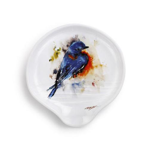 Bluebird Spoon Rest dean Crouser