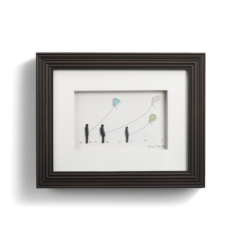 Three Flying Kites Wall Art