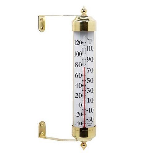 VT Grande View Thermometer Brass