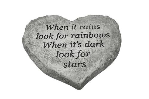 Heart Stone When it Rains .......