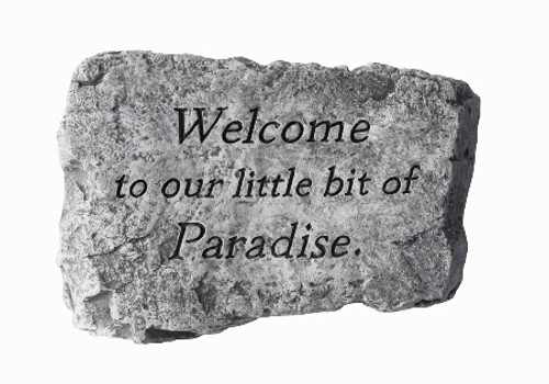 Welcome To Paradise Stone