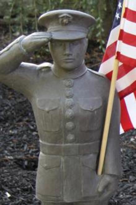 US Marine Statue