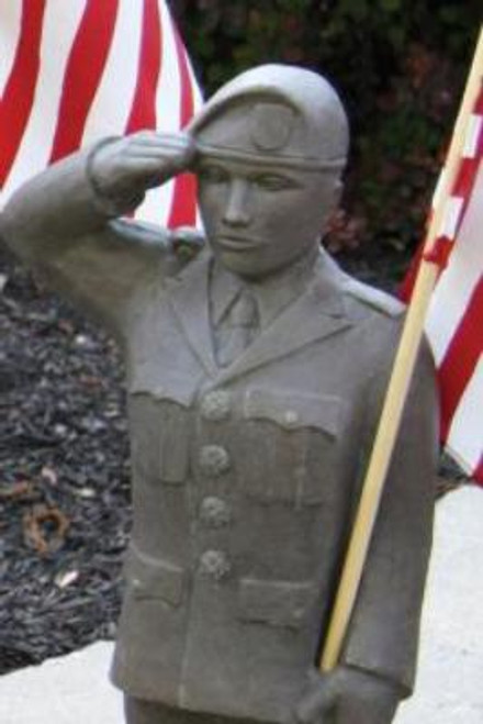 US Armed Forces Army Statue