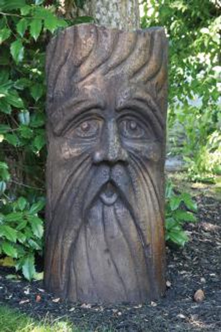 Bearded Barley Face Statue