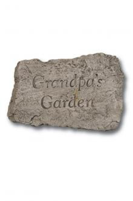 Grandpa's Garden Stone