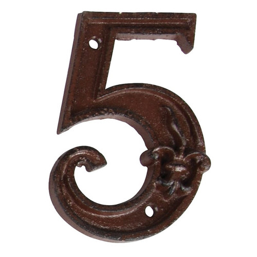Cast Iron Housee Number #5